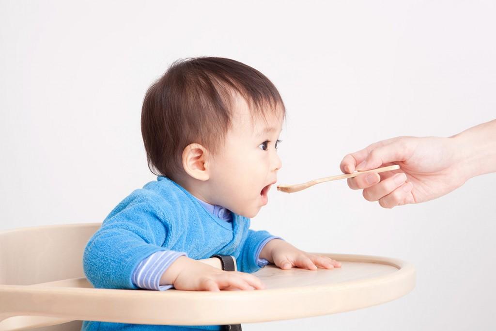 離乳食実習「離乳食のすすめ方」